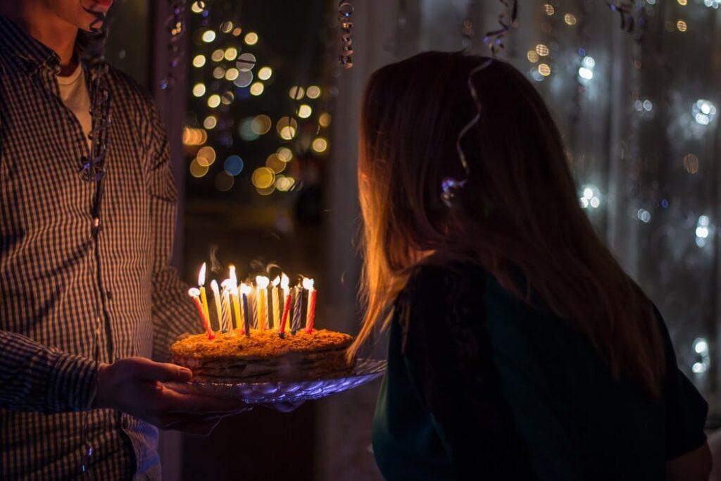 To grow spiritually on your birthday during lockdown.