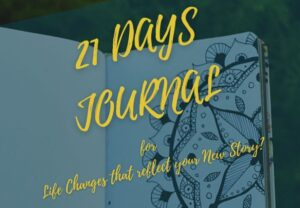 21 Days digital journal for new life story   Self Healers