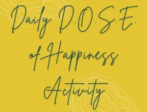 daily d.o.s.e. of happiness activity   Self Healers