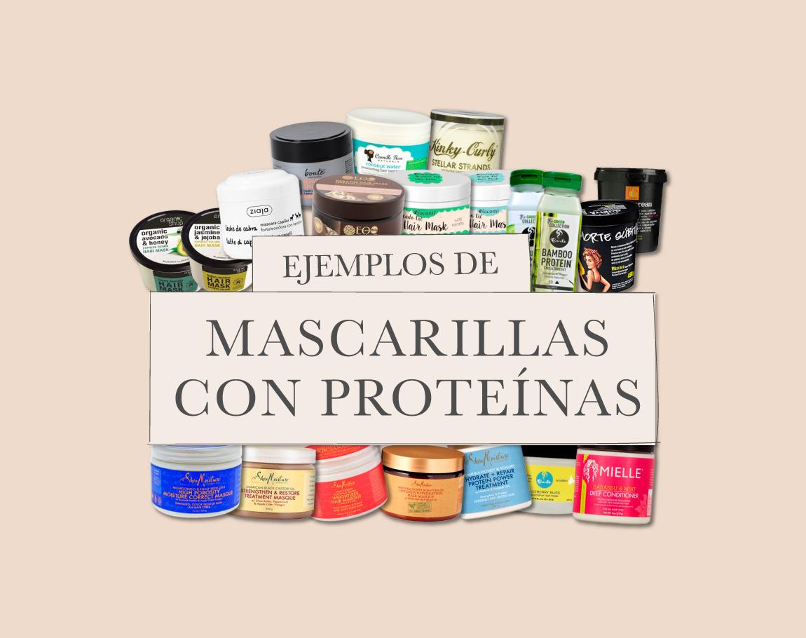 Mascarillas con Proteínas – ejemplos de productos