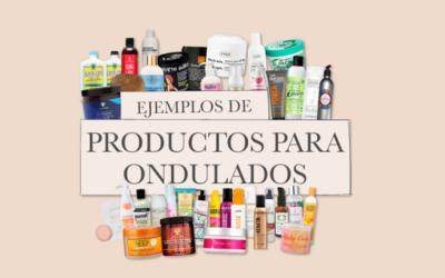 Cabello ondulado – Ejemplos de productos