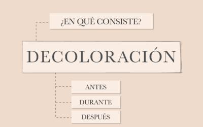 Decoloración capilar – Cómo cuidar el cabello decolorado