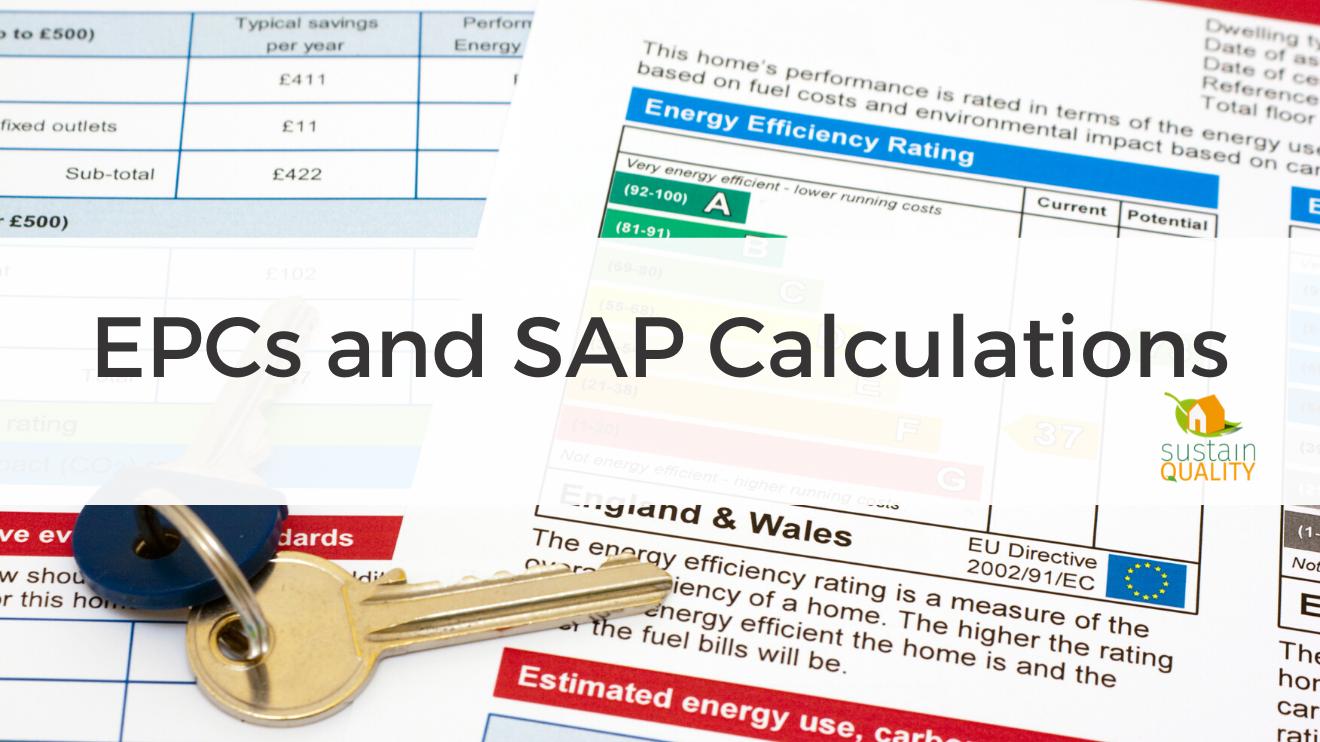 EPCs and SAP Calculations
