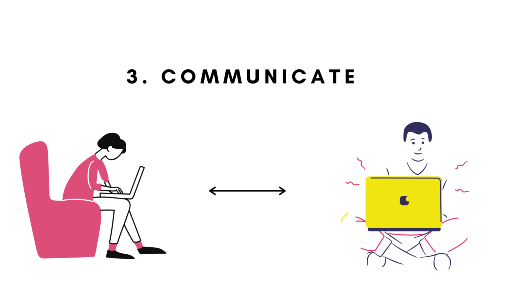 3. Communicate
