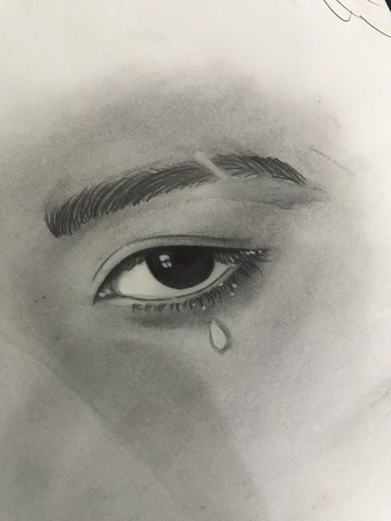 Eye crying