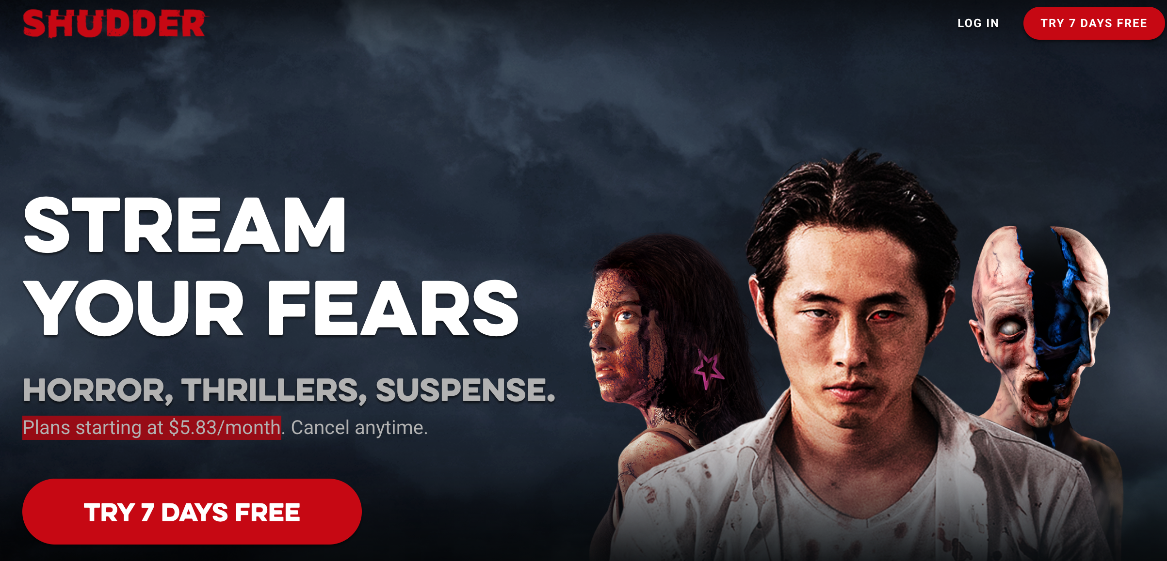Stream Your Fears Horror Thrillers Suspense