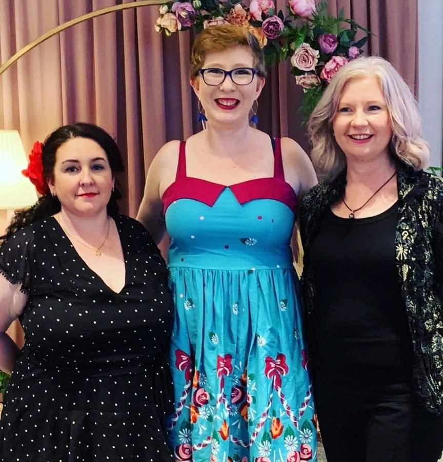 Chrystale Langford, Jess Kerrigan & Joanne Brown Hardy