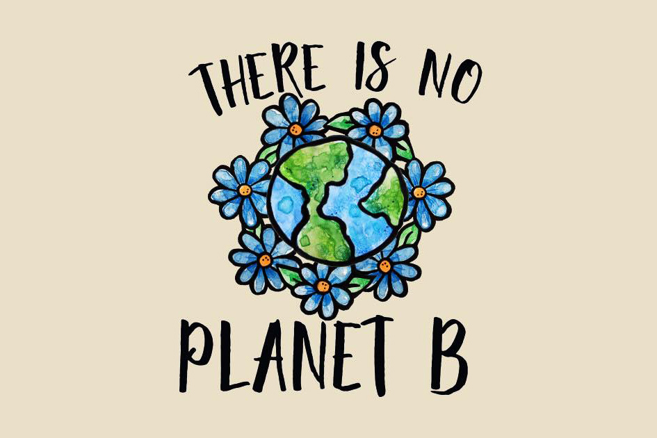 There is no planet B illustration