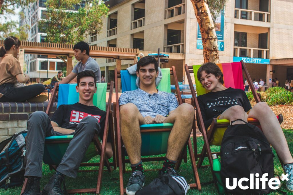 New students relax at UC O-week