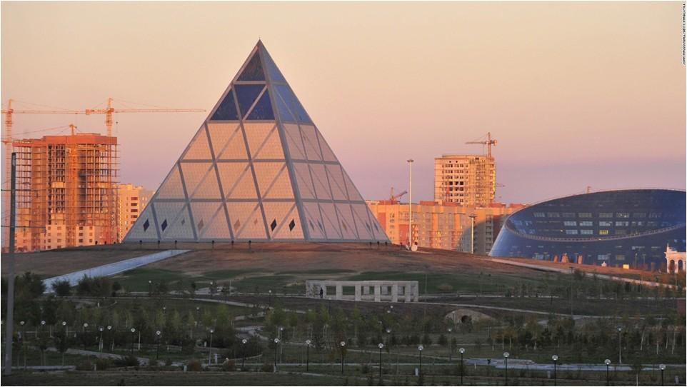 Globalisation: Not Egypt but Astana