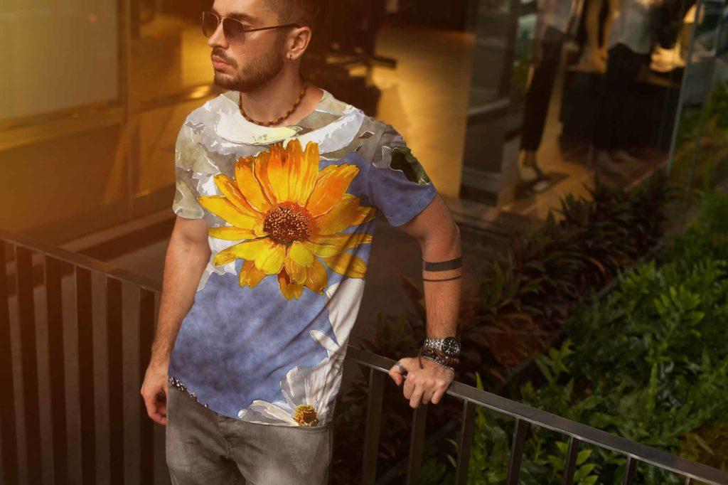 Digital Printing on Mens Wear