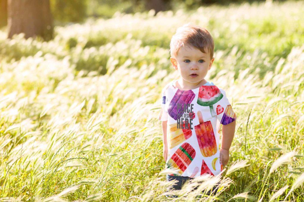 Digital Printing On Kids Wear