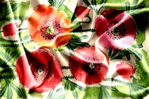 digital print digital printing Digital Textile Printing star flower floral