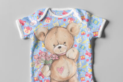 Digital Print on infant wear
