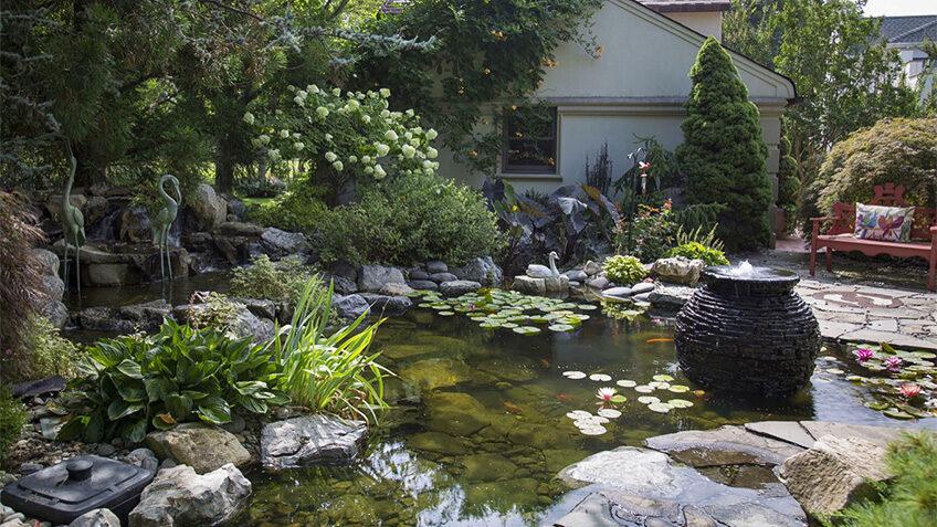 Water gardens Liverpool