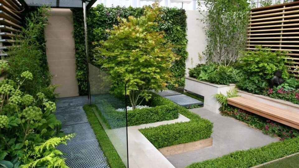 Contemporary landscaping Liverpool