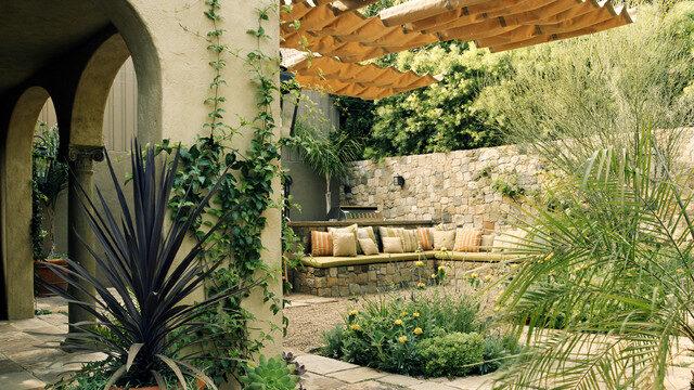 Mediterranean style gardens Liverpool