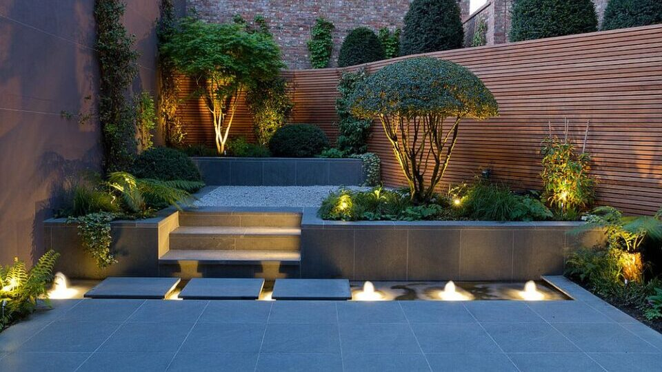 Garden lighting Liverpool
