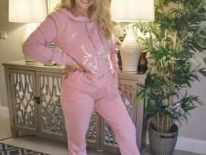 Pink Love Track Suit