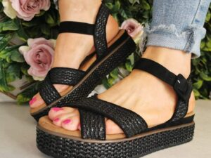 Refresh 72730 Black Sandals