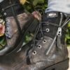 LG Black Long Lace Boot Sole Sister