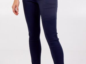Stretch High Waist Navy Jeans