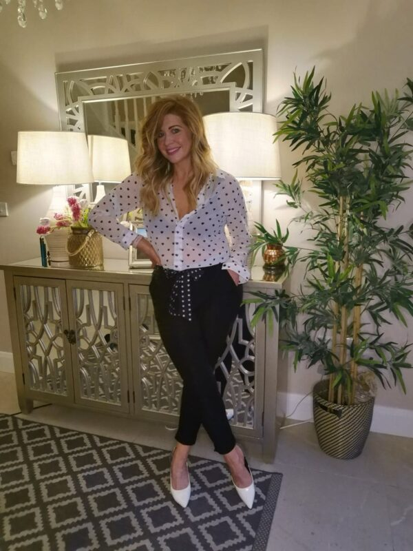 Charlie Crop Belted Trousers sole sister
