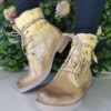 LG Yellow Long Lace Boot