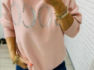 Coco Light Knit in Pink, Blue and Mint