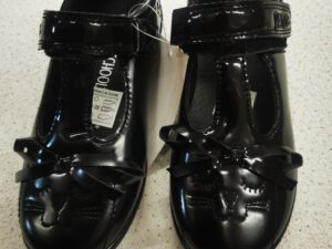 Bow Cat School Shoes