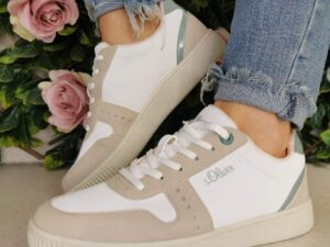 S Oliver 23611 White Blue Sole sister