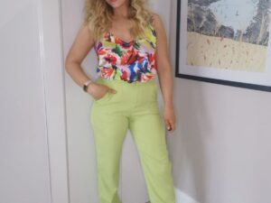 Maxine Green Trousers