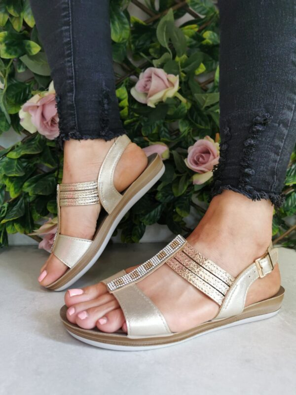 Lotus Rome Gold ULP093 Sole Sister