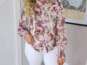 Pearl Victorian Style Blouse