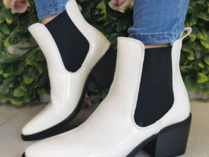 Sole Sister White Cowboy Boot
