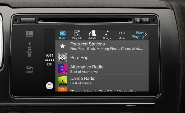 Apple CarPlay - Mirrorlink