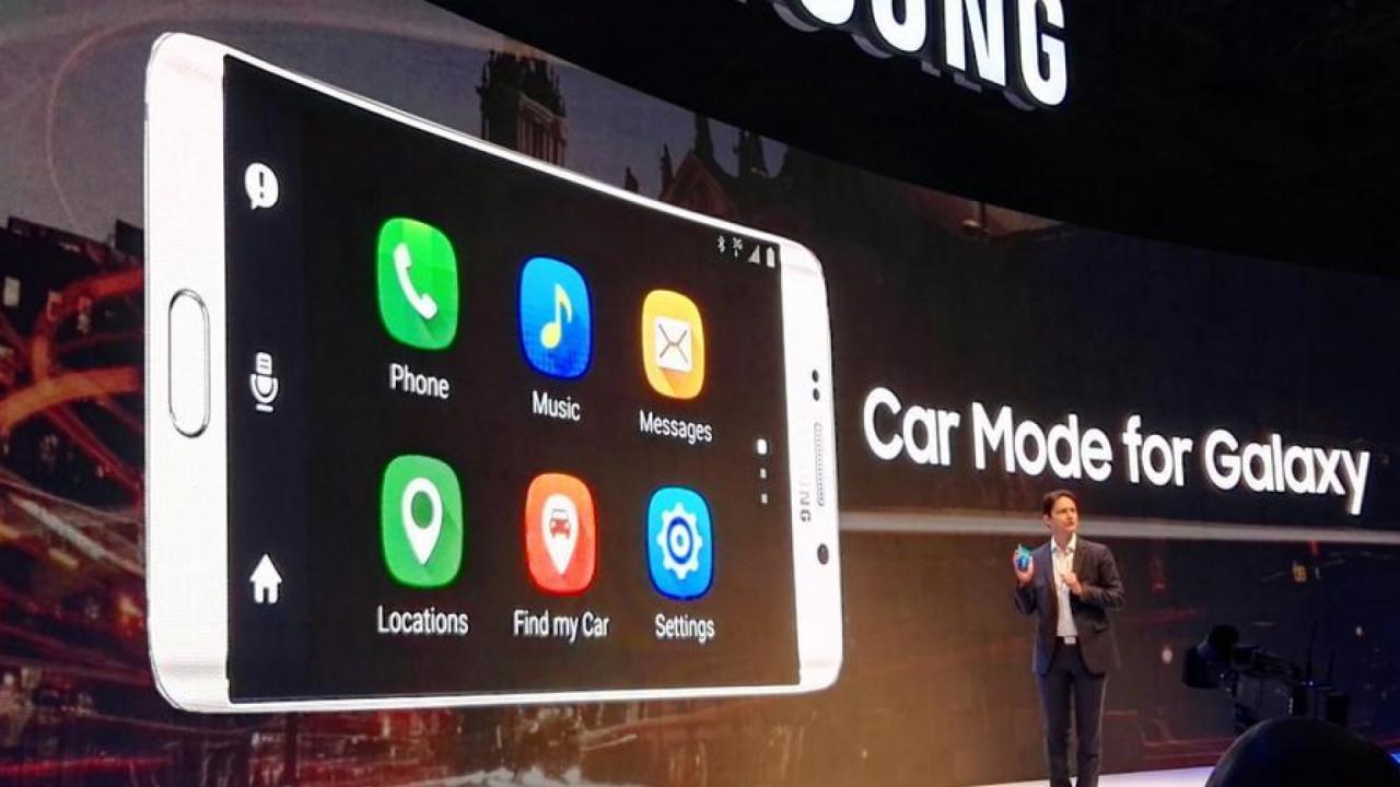Samsung Car Mode for Galaxy Mirrorlink