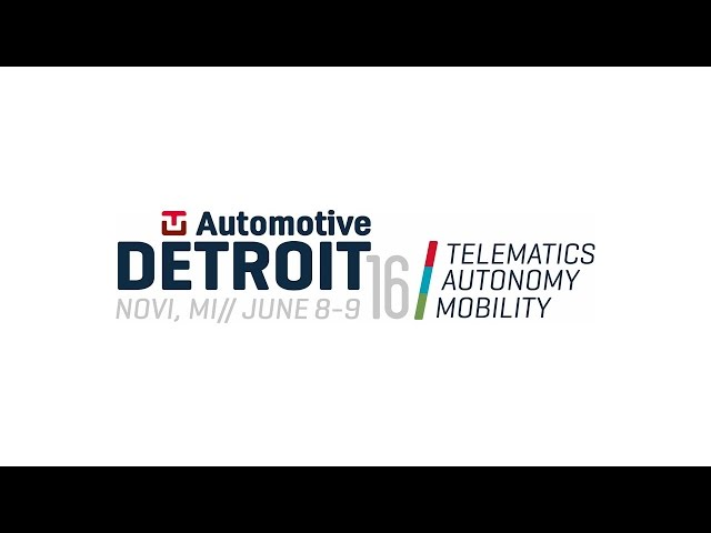 Mirorrlink TU Automotive 2016 Detroit