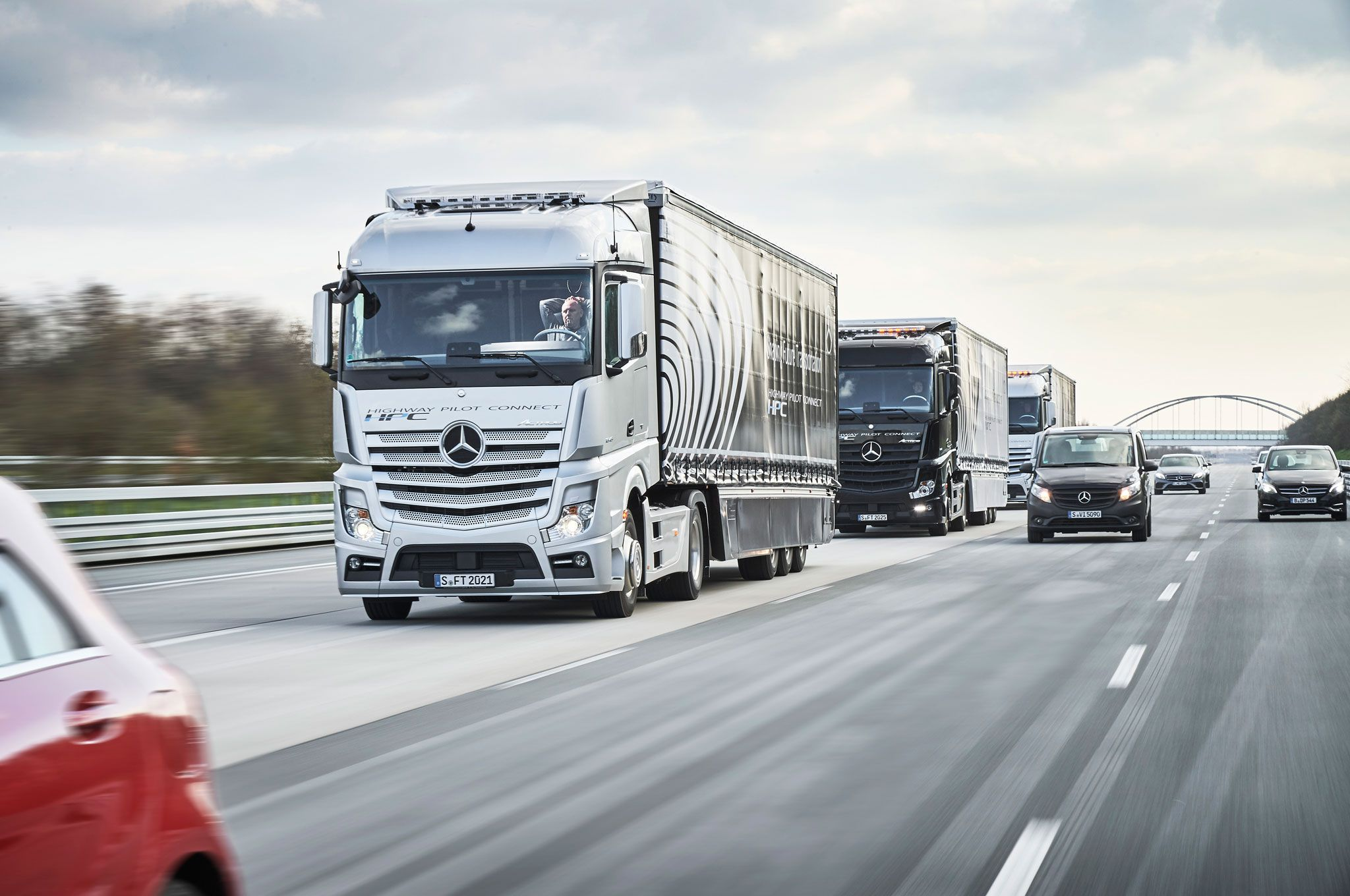Mirrorlink Mercedes Vrachtwagen Truck