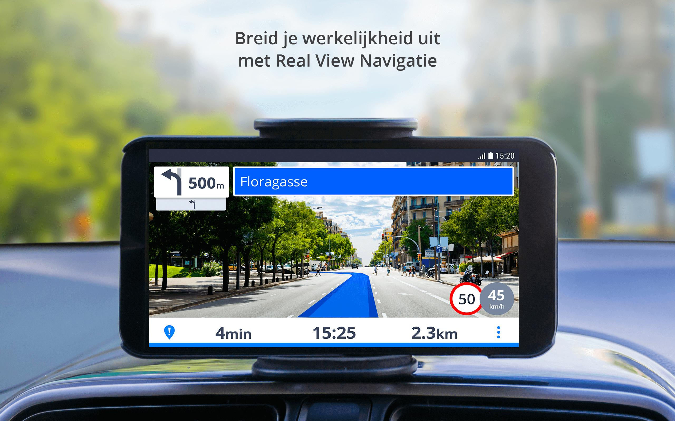Sygic Navigatie Mobiel Mirrorlink