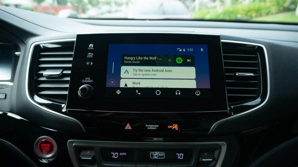 MirrorLink Android Auto
