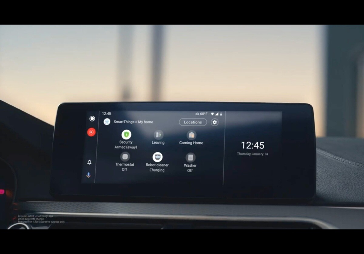 Samsung SmartThings Android Auto Mirrorlink