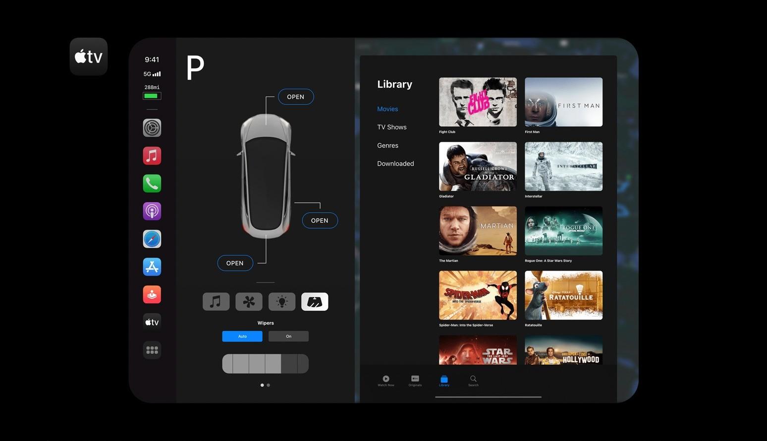 Apple Carplay Tesla Model 3 Android Auto Mirrorlink