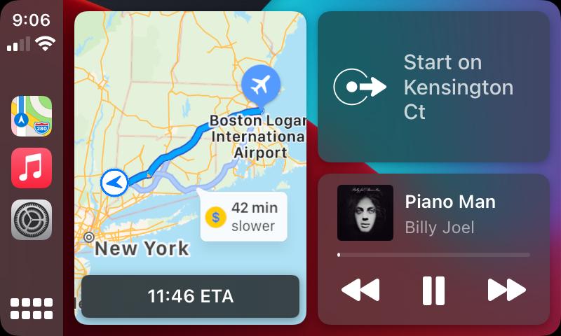 Apple Carplay Gebruiken Auto iPhone Mirrorlink