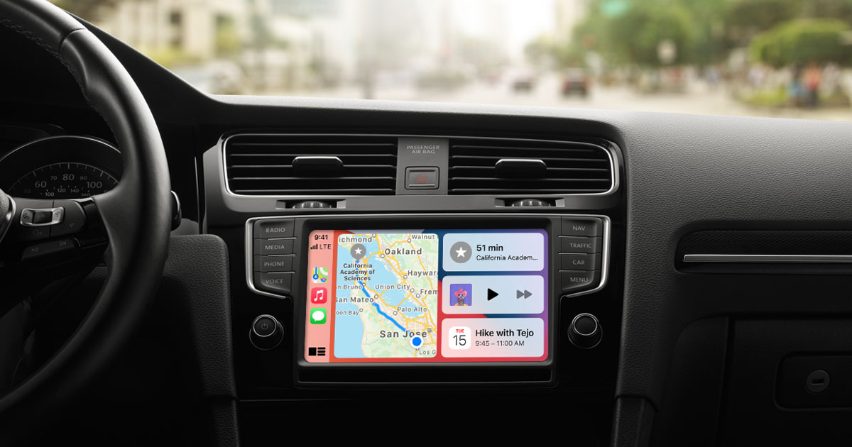Apple Carplay installeer in auto