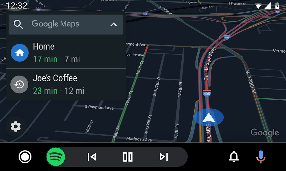 Android Auto Google Maps Mirrorlink