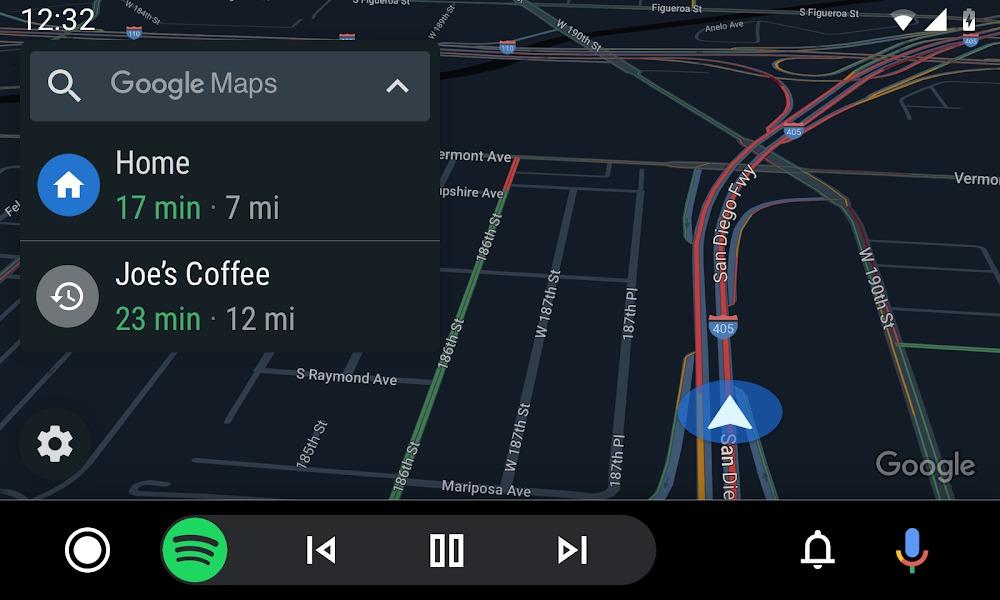 Android Auto Google Maps Mirrorlink