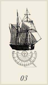 Lenormand Ship or Boat Card Meaning