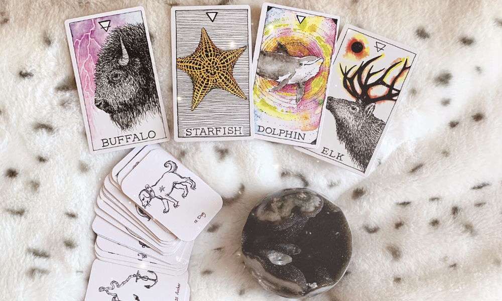 Combine Lenormand And Oracle Cards