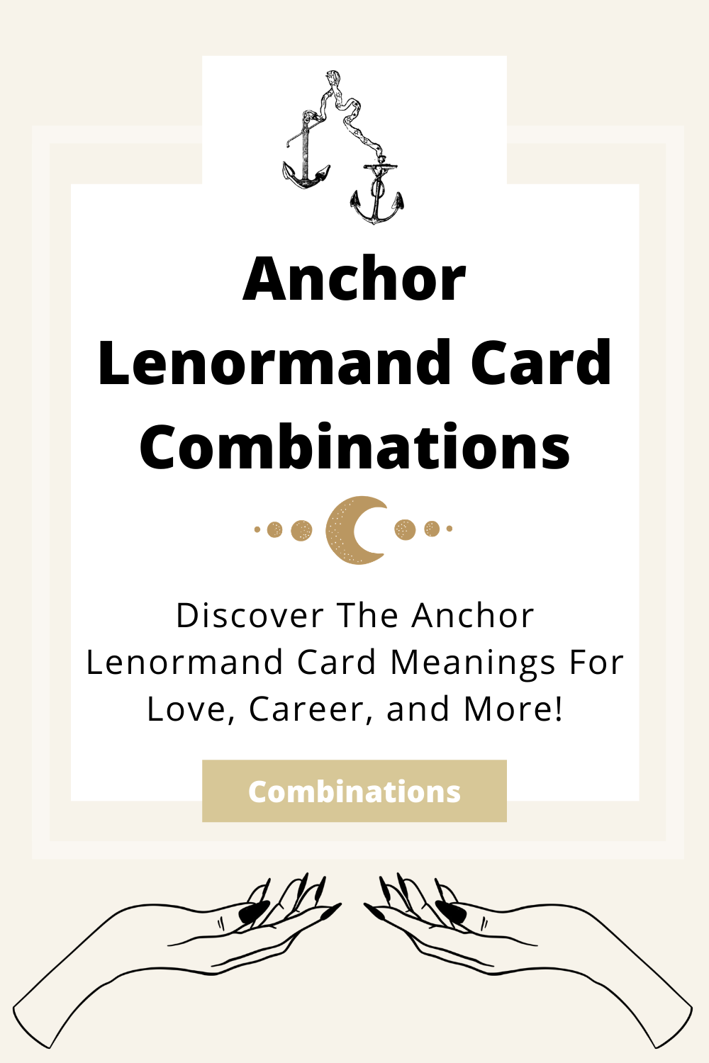 Learn the beginner Anchor Lenormand Card combinations for general readings, love, business, career and more! Learn how to combine the Anchor card with the Diviners Lenormand deck.